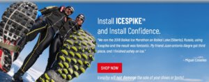 IceSpikes for your shoes and boots