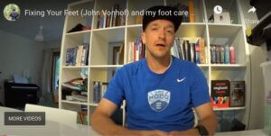Jeremy's foot-care kit video